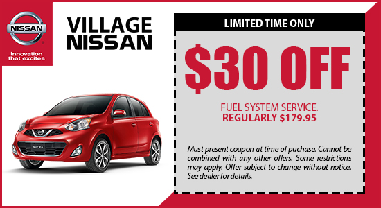 $30 OFF Fuel System Service