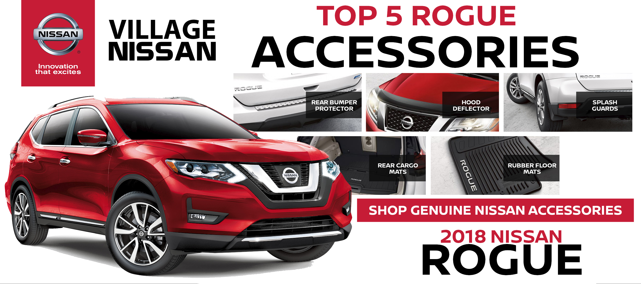 Nissan Rogue Accessories Village Nissan
