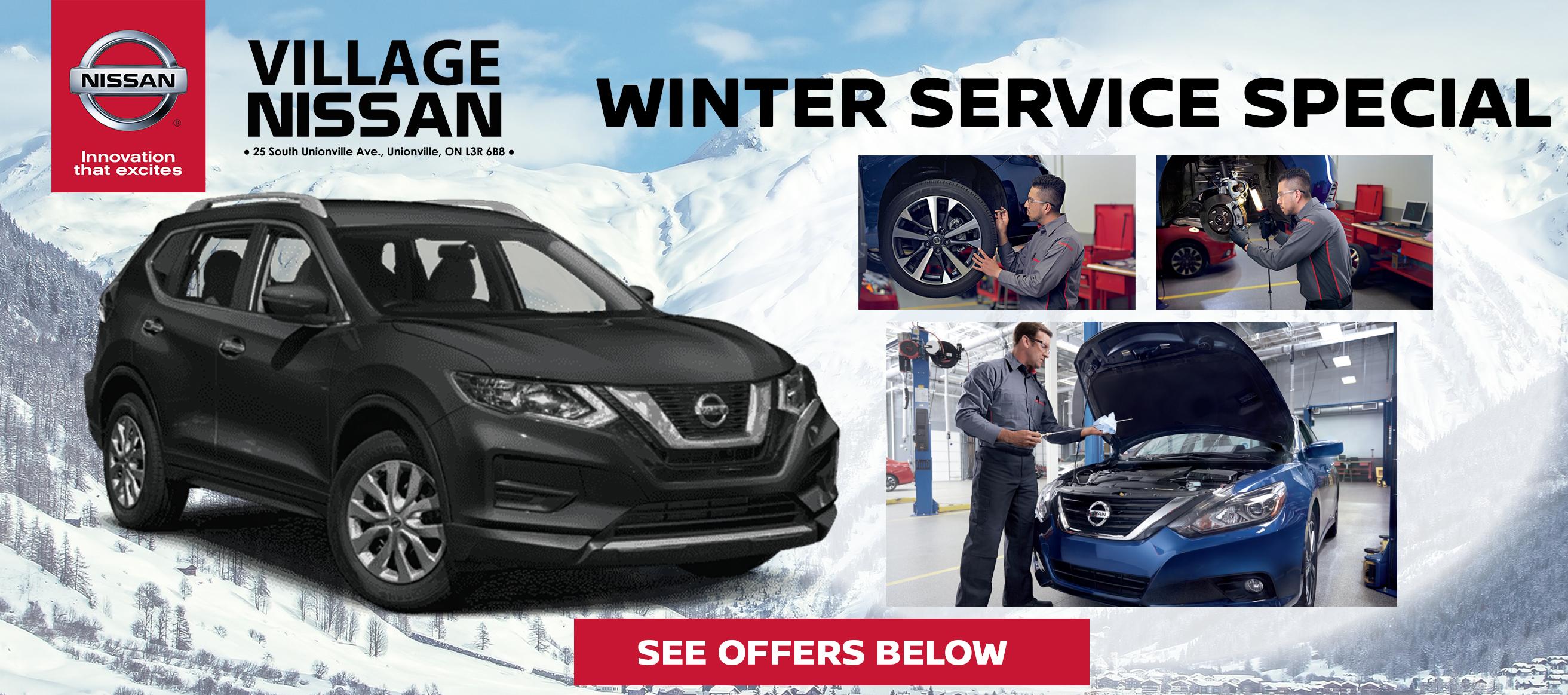 Winter Service Special - Village Nissan
