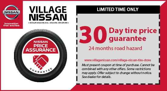 30 Day Tire Price Guarantee