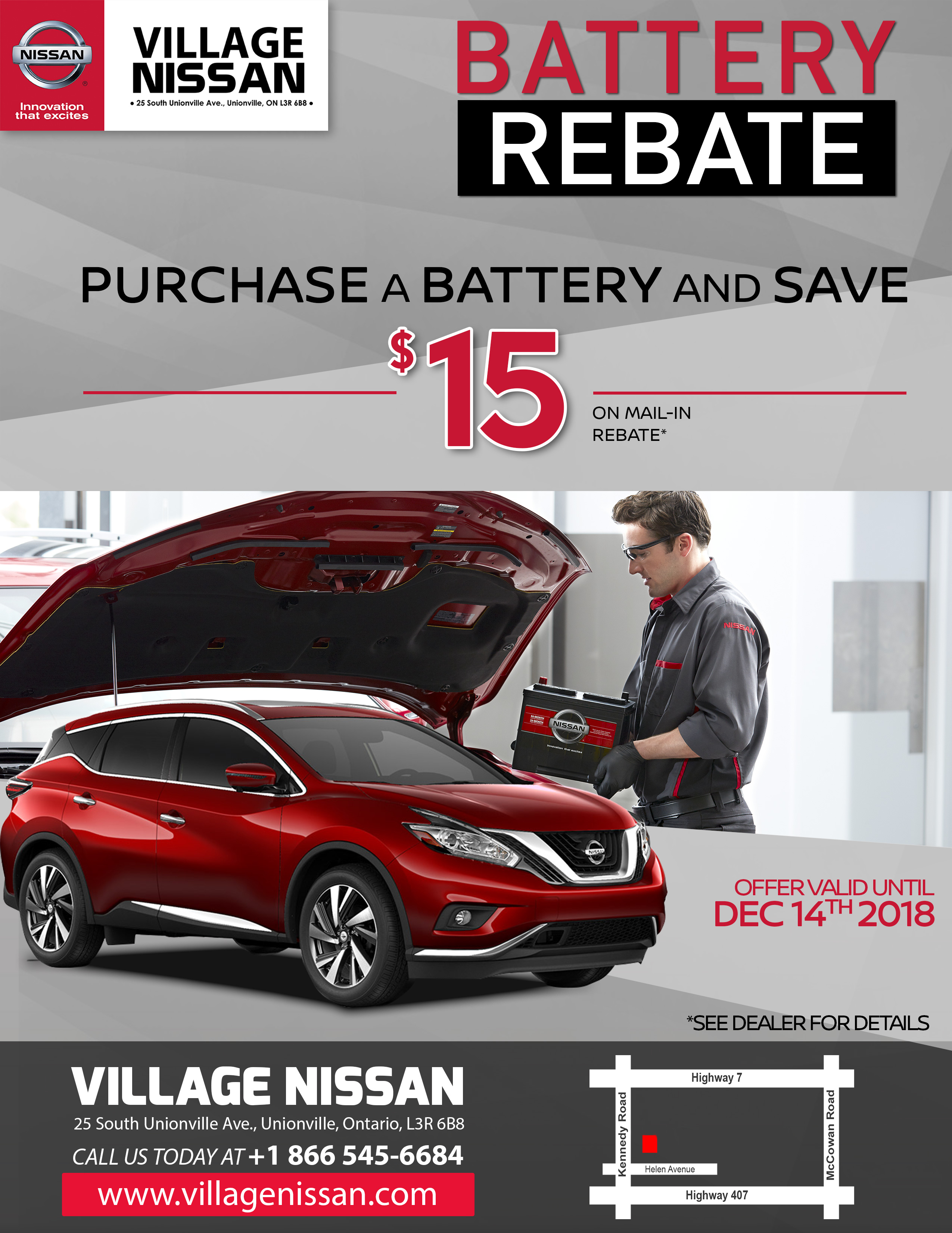 Save $15.00 On Car Battery