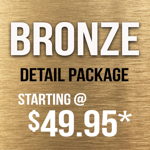 Silver Detail Package – 15% OFF!