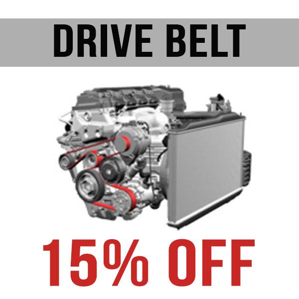 Drive Belt – 15% OFF Parts & Labour