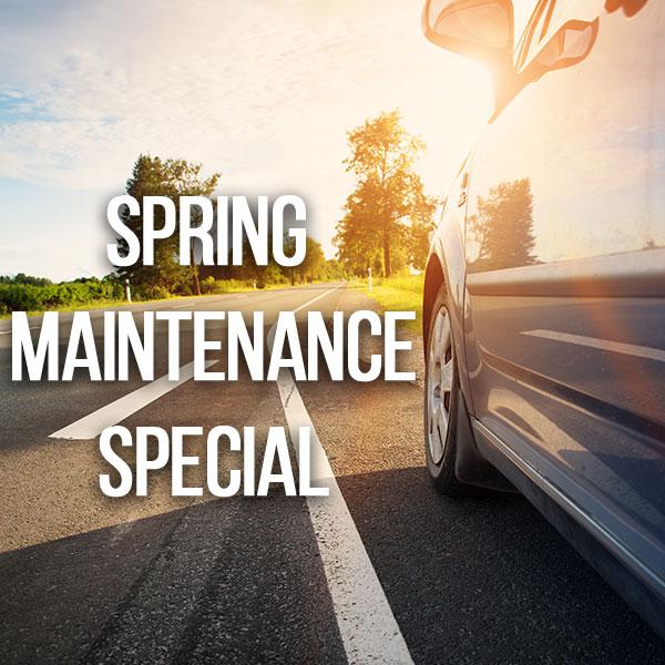 Spring Maintenance Special