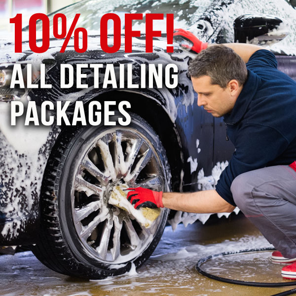 Detailing Packages – 10% off all Packages!