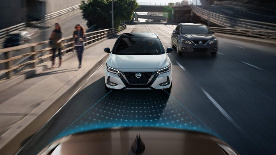 Safety Features on 2020 Nissan Sentra at Village Nissan